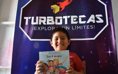 Programa Turbotecas de Danper busca despegar la creatividad e imaginación de niñas y niños