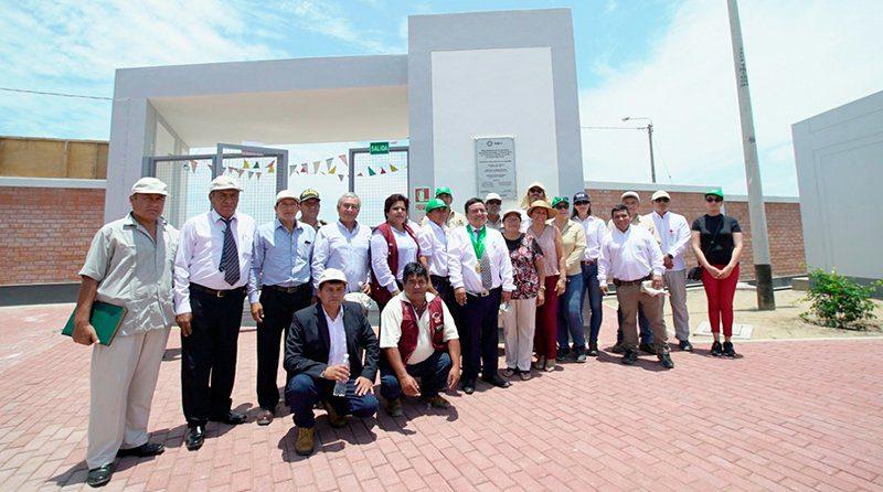 Agrícola Cerro Prieto inaugura la Escuela I.E. Clementina Peralta de Acuña