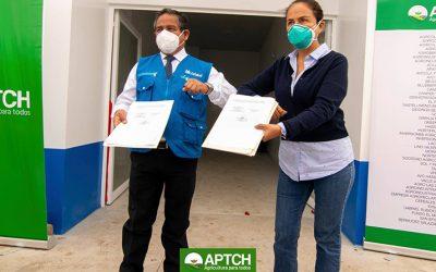 APTCH hace entrega de hospital COVID-19 a la provincia de Virú