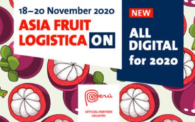 Asia Fruit Logistica ON se llevará a cabo en noviembre