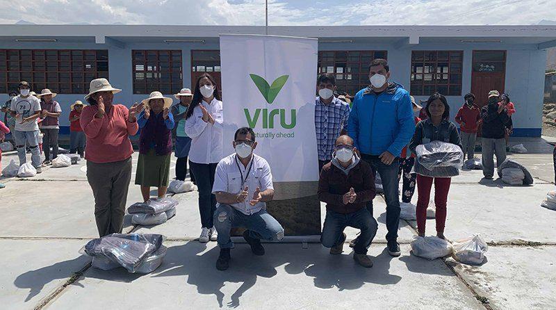 Virú S. A. contribuye con la alimentación y abrigo de más de 600 familias de las comunidades más necesitadas en La Libertad
