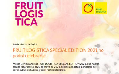 Cancelación Fruit Logística Berlín 2021