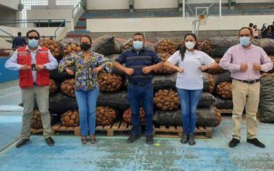 APTCH: Donan 30 toneladas de alimentos para comedores populares de Trujillo