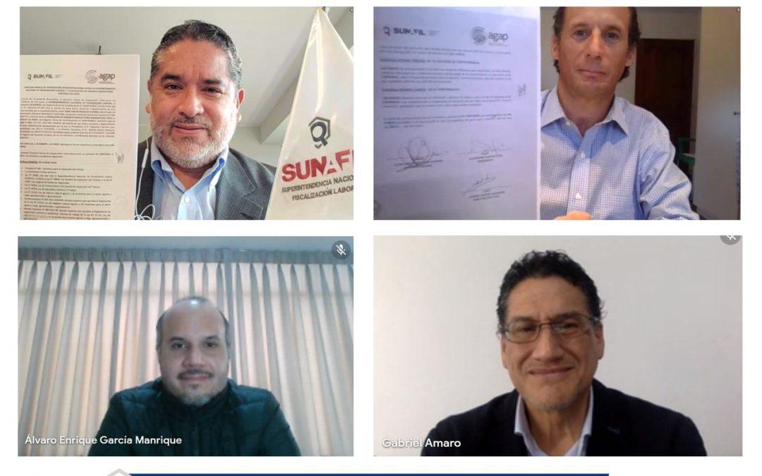 SUNAFIL articula esfuerzos con la Asociación de Gremios Productores Agrarios del Perú para lograr más formalización laboral en el sector
