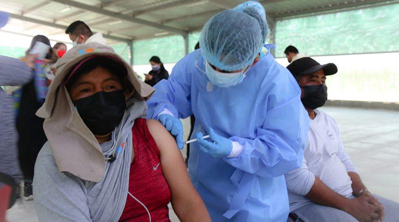 Don Ricardo en coordinación con la Red de Salud de Ica realizan campaña de vacunación contra la COVID-19