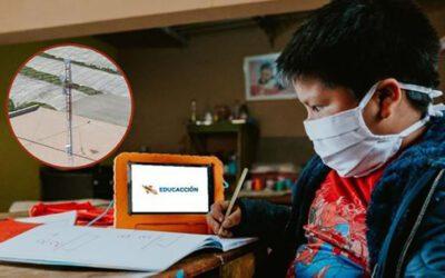 Danper implementa solución digital para escolares de zonas con limitado acceso a internet