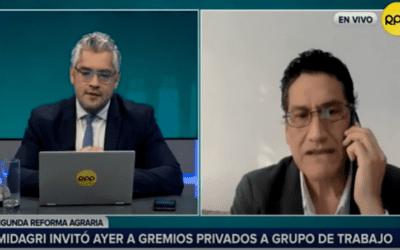 Entrevista a Gabriel Amaro, director ejecutivo de AGAP, Vía RPP